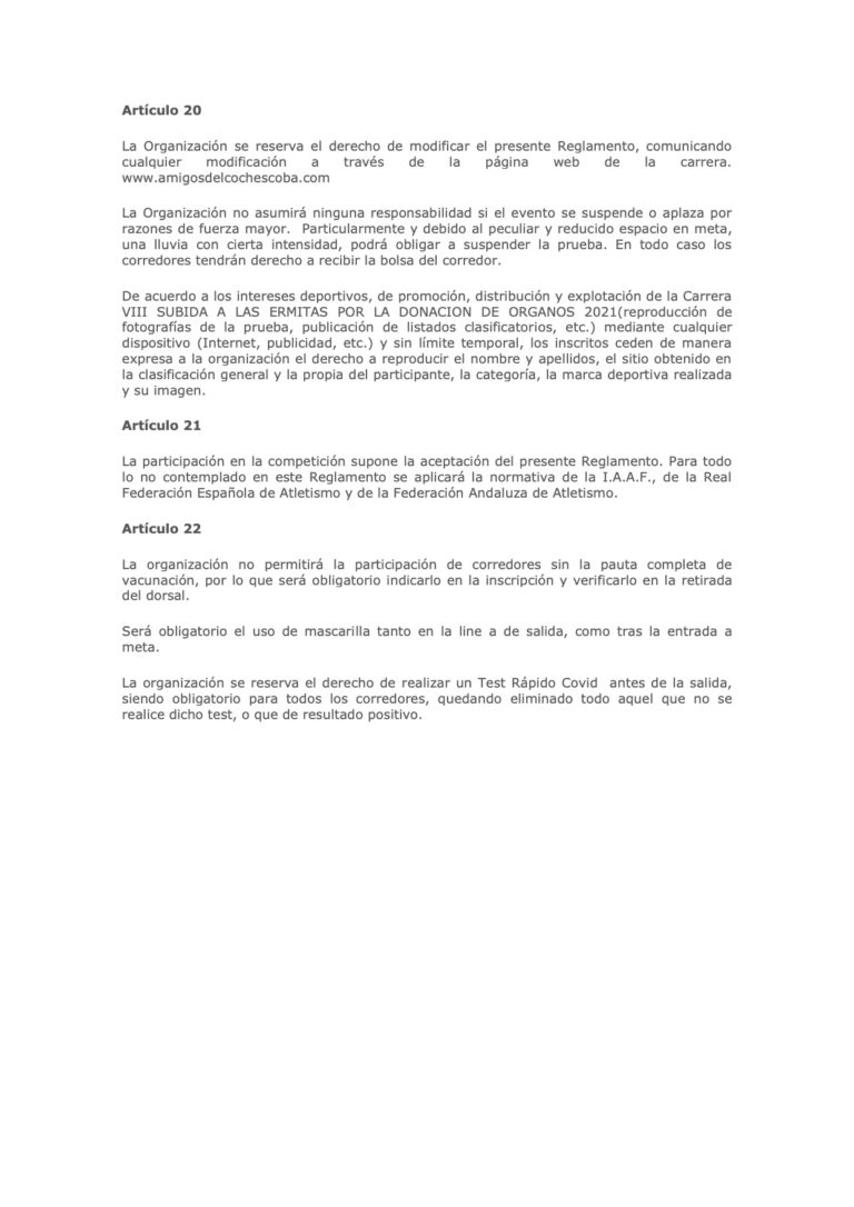 Reglamento Subida Ermitas 2021 - 5