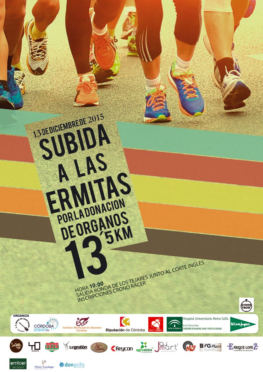 Cartel carrera Ermitas 2014