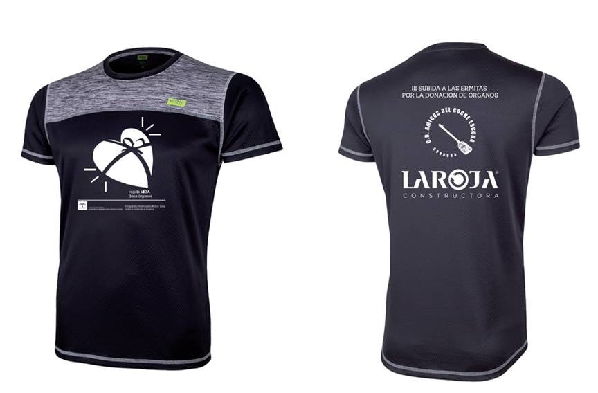 Camiseta carrera Ermitas 2016