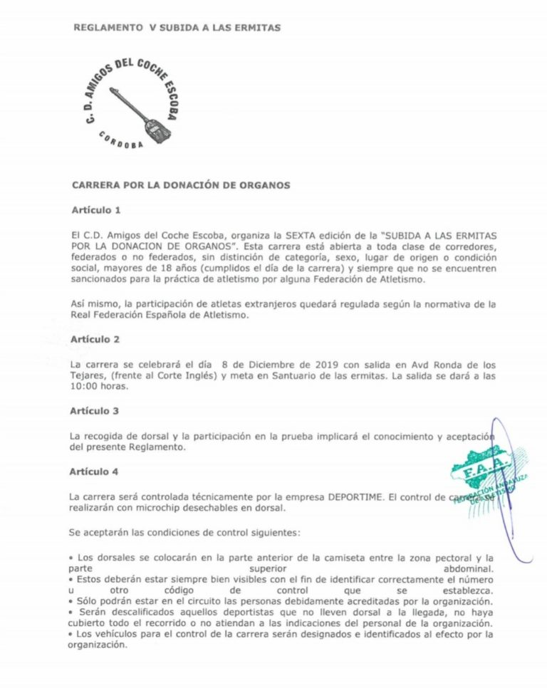 Reglamento Subida Ermitas 2019-1