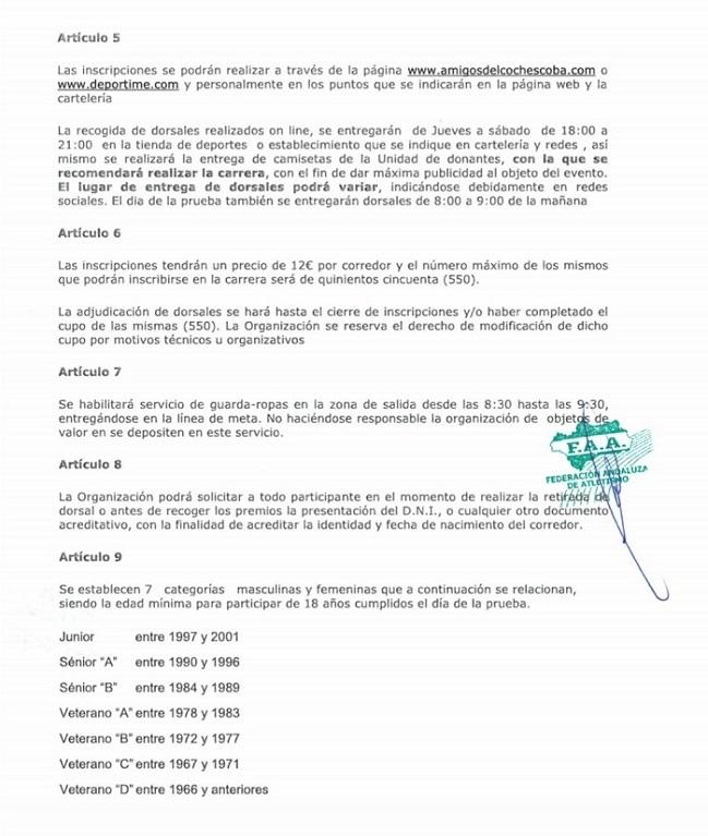 Reglamento Subida Ermitas 2019-2